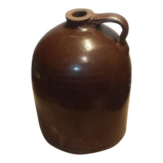 Antique Stoneware Whiskey Jug