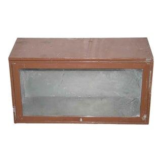 Vintage Metal Barrister Book Shelf Section For Sale
