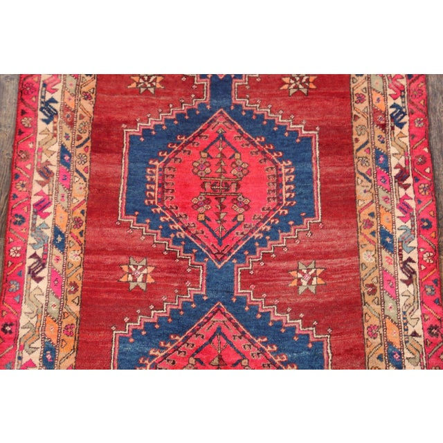 Ardebil Persian Runner Rug - 3′8″ × 7′4″ - Image 3 of 4