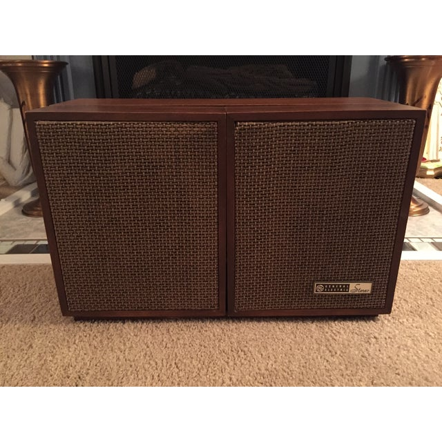 Mid-Century General Electric Folding Speaker Radio - Image 3 of 7