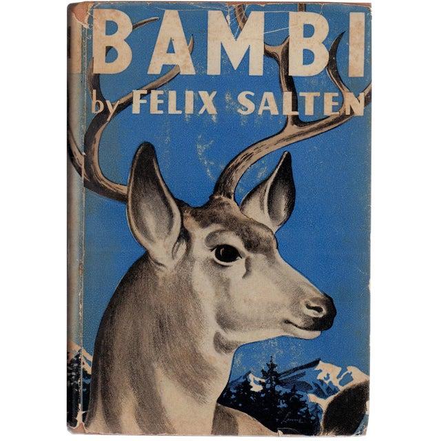"1929 ""Bambi"" Collectible Book For Sale"