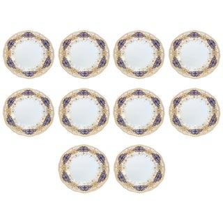 Coalport Dinner Plates - Set of 10 For Sale