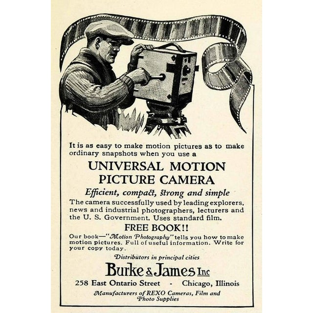 Universal Cinema Camera Built in 1928. Rare Cinema Field Camera. Display As Sculpture. For Sale - Image 9 of 9