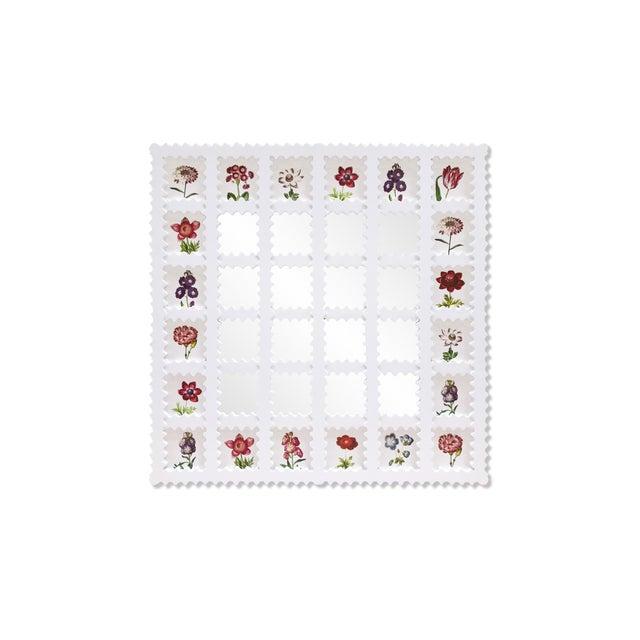 Fleur Home x Chairish Liz Marsh Lattice Mirror For Sale - Image 4 of 4