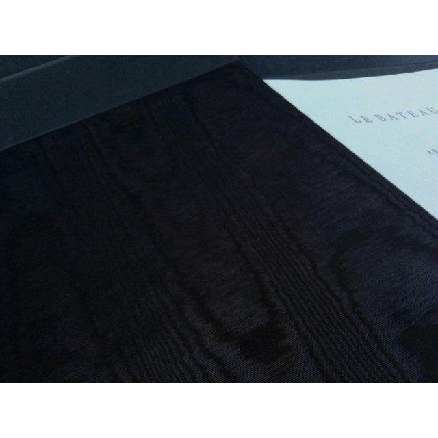 """Black Thierry Despont Lithograph Portfolio of Rimbaud's Poem """"Le Bateau Ivre"""" For Sale - Image 8 of 10"""