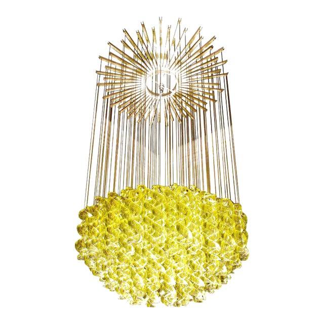 Exceptional Venetian Blow, Glass Pendant Light Fixture For Sale