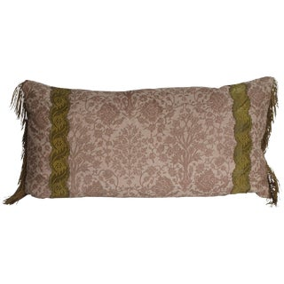 Vintage Fortuny Pillow by Mary Jane McCarty Design For Sale