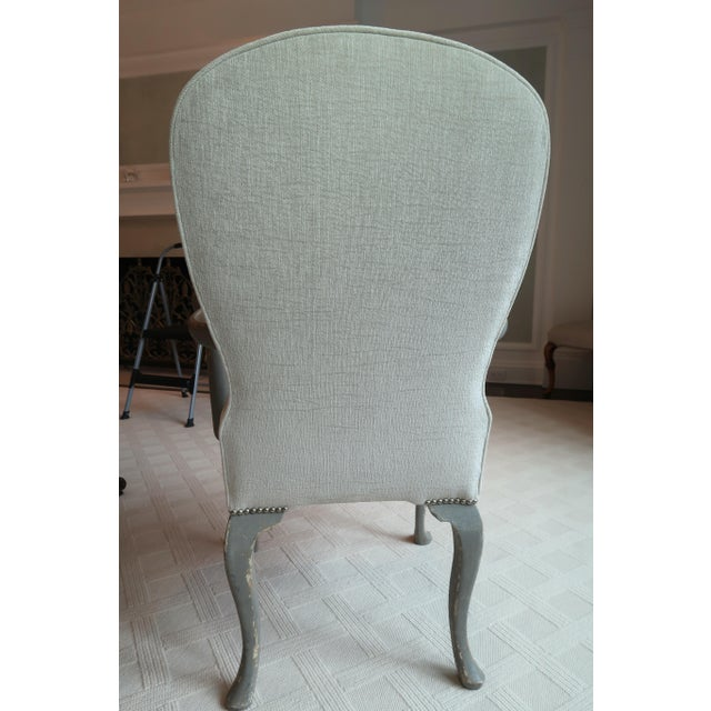 Antique Belgium Armchairs - a Pair For Sale In New York - Image 6 of 12