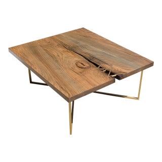 Ebonized Oak Coffee Table For Sale