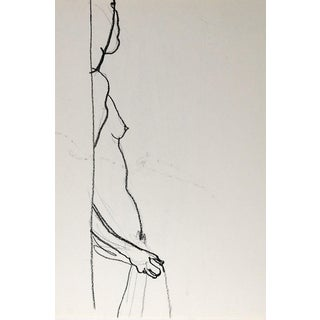 Nude Study 2 in 1 Drawings of Woman For Sale