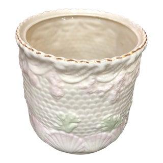 Belleek Shell Jar For Sale