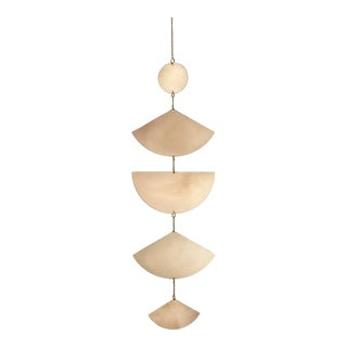 Corie Humble Bronze Geometric Wall Hanging For Sale