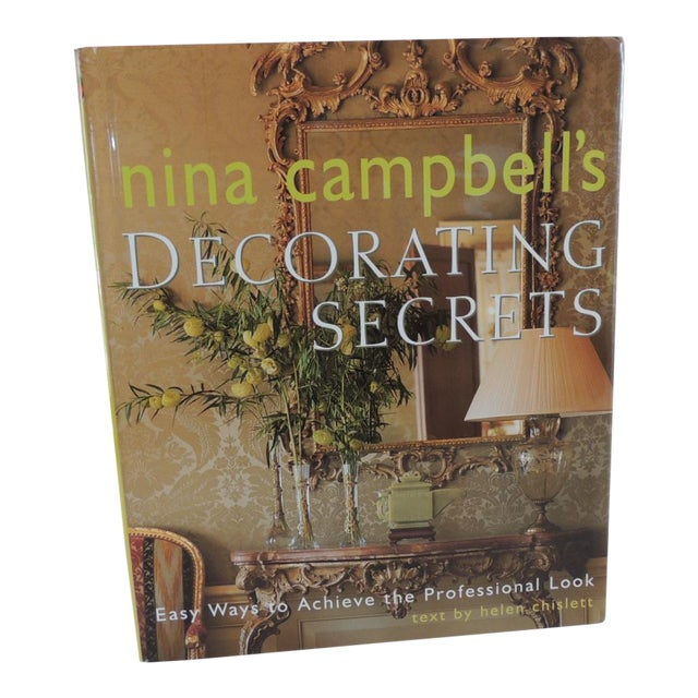 Nina Campbell Decorating Secrets Book For Sale