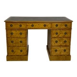 Image of English Satinwood Desk Circa 19th Century For Sale