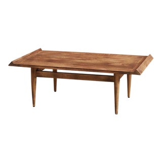 Burnished Wood Coffee Table