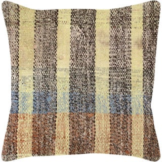 "Nalbandian - Turkish Rag Pillow - 15"" X 15"" For Sale"