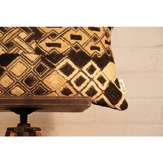 Kuba Vintage Geo Pillow - Image 4 of 5