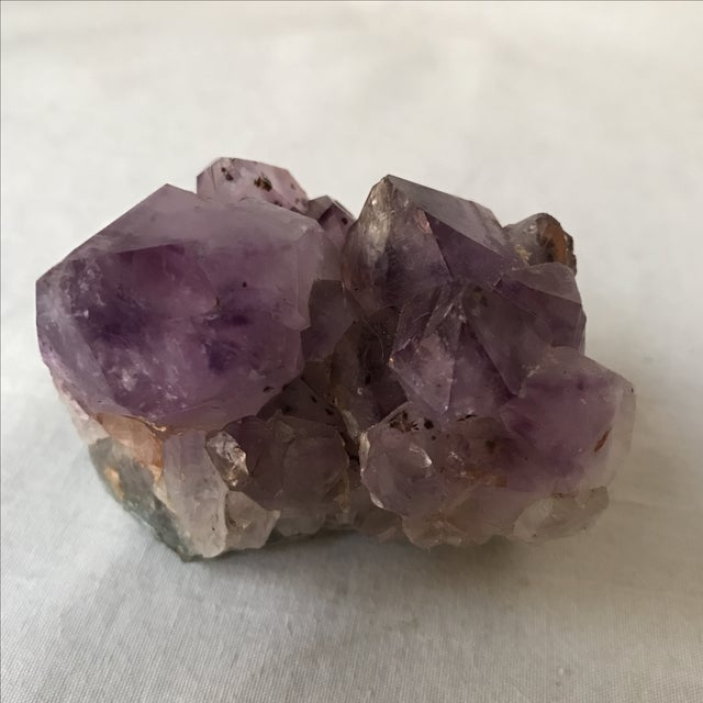 Boho Chic Decorative Amethyst Accent For Sale - Image 3 of 4