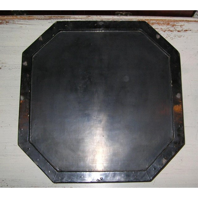 Antique Chinese Black Lacquer Hexagonal Box For Sale - Image 9 of 10