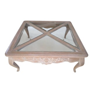 Pennsylvania House Square French Style Coffee Table For Sale