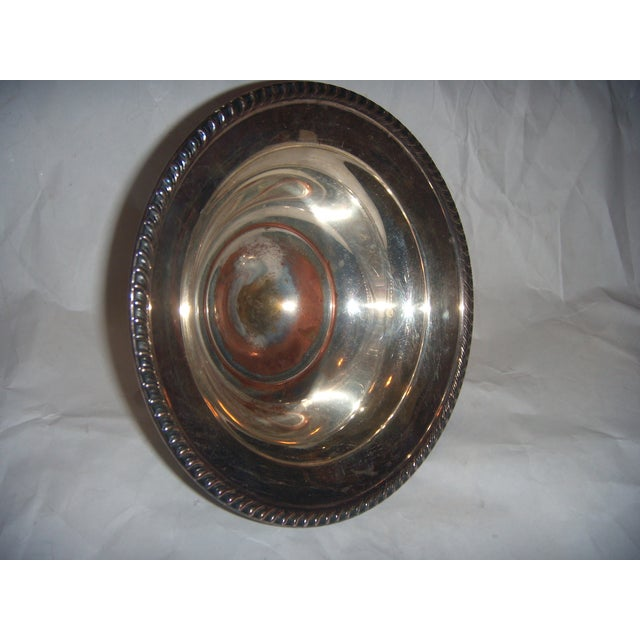 Silver-Plate Pedestal Bowl - Image 8 of 9
