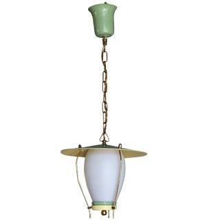 Mid-20th Century Hanging Lantern by Stilnovo For Sale