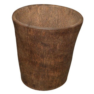 King Sago Palm Mortar Container/Planter For Sale