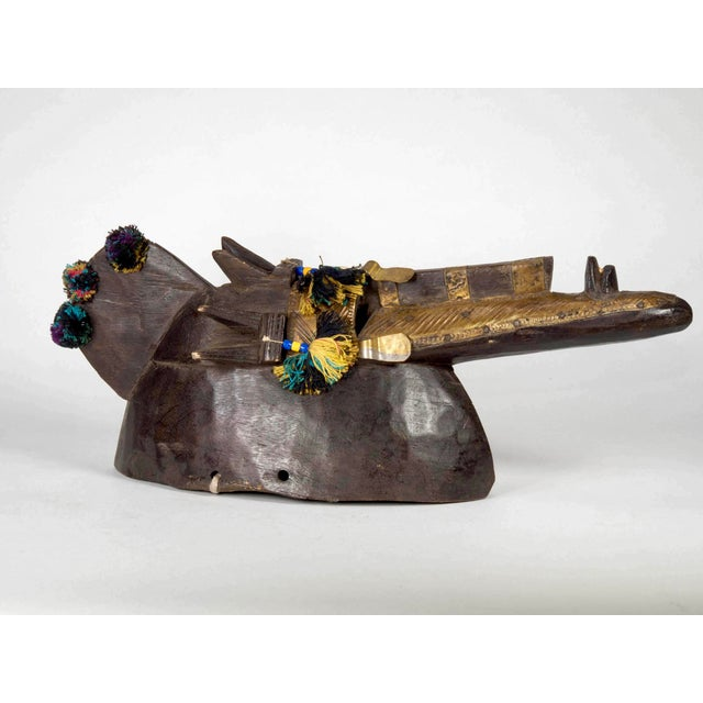 African Mali Bambara Mask of Nobility - Image 2 of 9