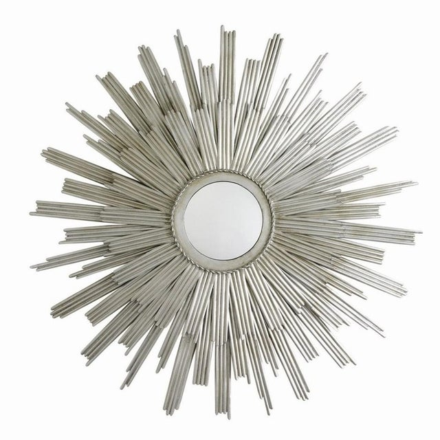 Abstract Arteriors Galaxy Sunburst Mirror For Sale - Image 3 of 3