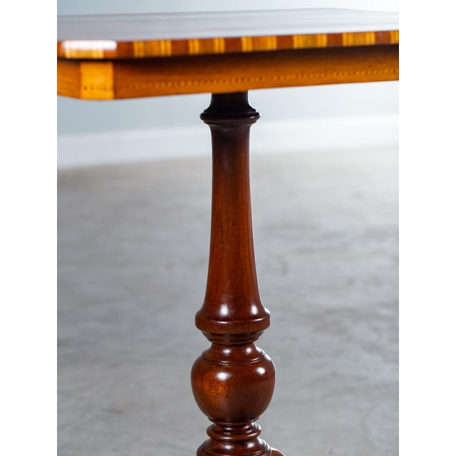"""Antique 1880s Italian """"Sorrento"""" Inlaid Table For Sale In Houston - Image 6 of 13"""