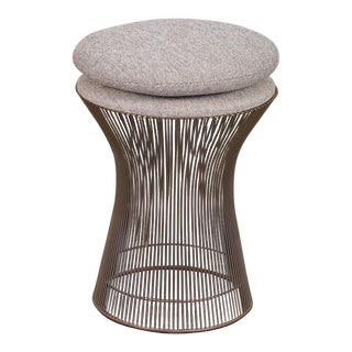 Warren Platner Wire Stool for Knoll For Sale