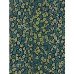 Sample, Scalamandre Bloom, Peacock Fabric