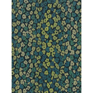 Sample, Scalamandre Bloom, Peacock Fabric For Sale