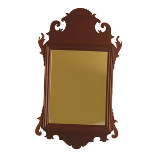 "Colonial Williamsburg ""Don Works"" Mahogany Shaving Mirror"
