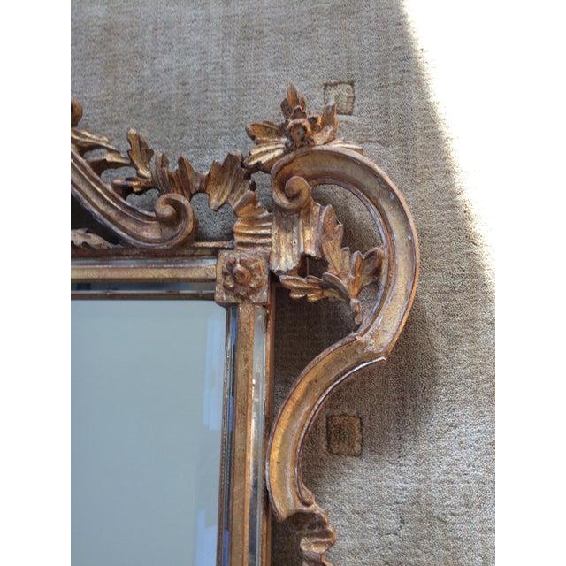 LaBarge Ornate Italian Giltwood Mirror - Image 6 of 9