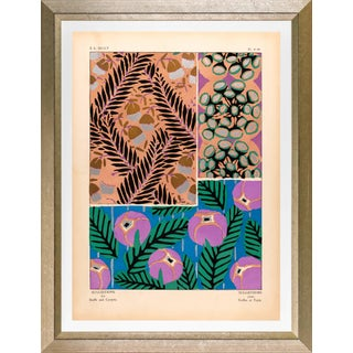 """Framed E. A. Seguy Print, """"Suggestions"""" Plate No. 16 For Sale"""