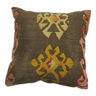 Geometric Kilim Pillow For Sale