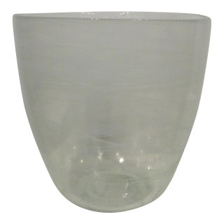 Glass Champagne Bottle Holder Ice Bucket