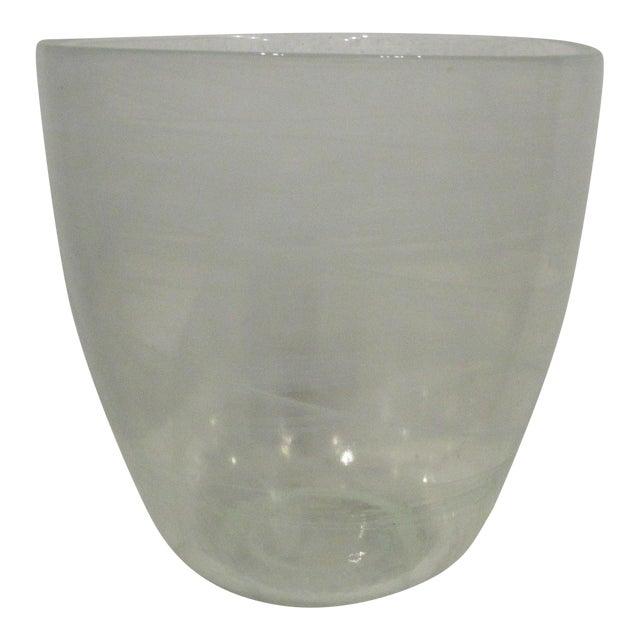 Glass Champagne Bottle Holder Ice Bucket For Sale