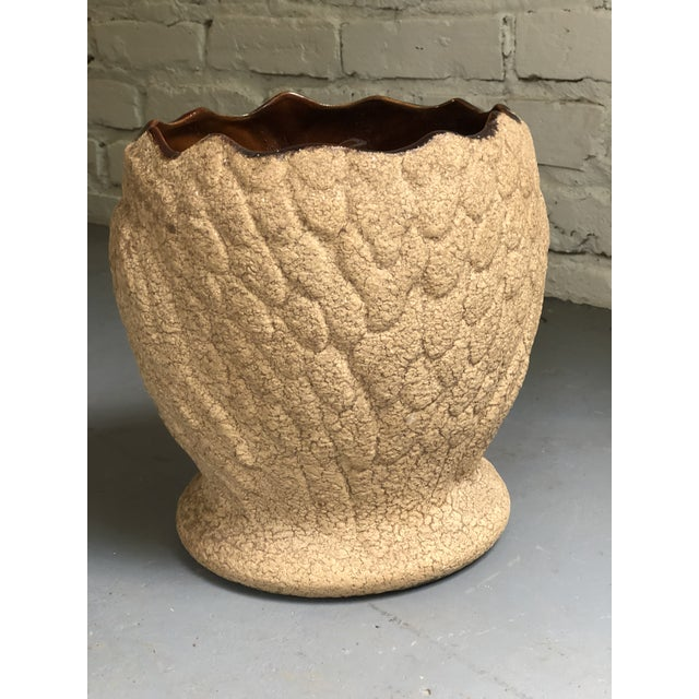 Haeger Mid Century Ceramic Owl Planter by Haeger For Sale - Image 4 of 10