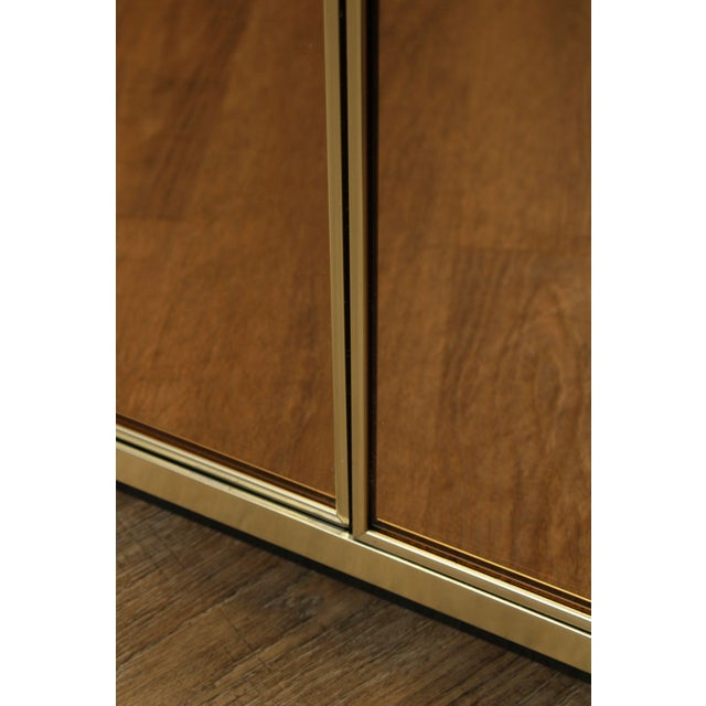 Contemporary Mirrored Door Cabinets - a Pair For Sale - Image 11 of 13