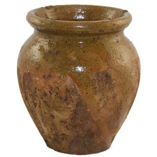 Vintage Turkish Glazed Pottery | Earthenware Jug For Sale