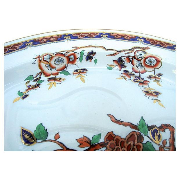 Antique Copeland Spode Imari Ironstone Meat Platter - Image 3 of 7