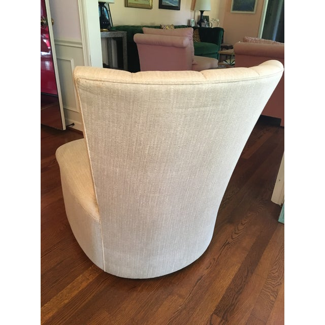 Channel Back Swivel Chair - Image 3 of 3