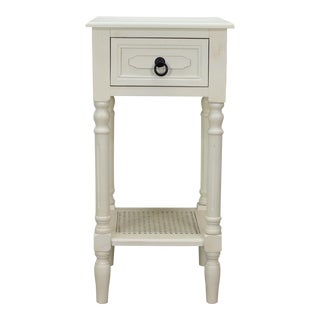 Lovely Off White Site Table For Sale