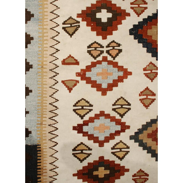 """1920s Early 20th Century Kilim Runner - 48"""" x 159"""" For Sale - Image 5 of 5"""