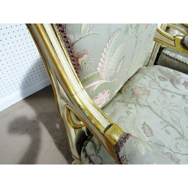 Pair of Louis XV Style Fauteuils For Sale - Image 12 of 13