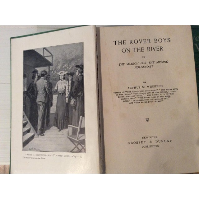 Early 1900s Books: The Rover Boys' Series for Young Americans - Set of 3 - Image 8 of 10
