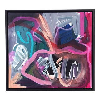 Crystal Cave Contemporary Painting For Sale