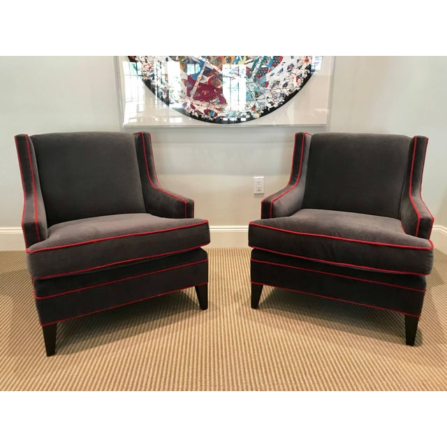 2010s Pair of Lounge Chairs For Sale - Image 5 of 6